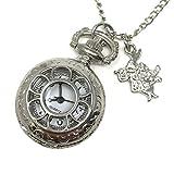 Alice in Wonderland Pocket Watch Necklace Costume Accessory