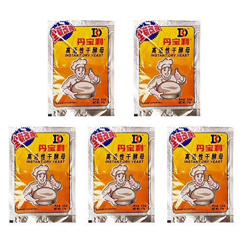 Brightsen Dry Yeast Premium Yeast Organic Yeast for Cake Baking Use 3/10package