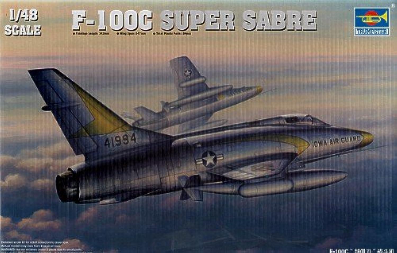 1 48 F100C Super Sabre Fighter