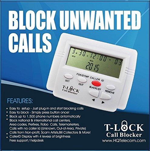 T-lock Call Blocker Version 5.0 by hqtelecom (OEM)