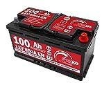 Batteria Auto Speed 100Ah AGM 850A con polo positivo a destra per motori Start&Stop
