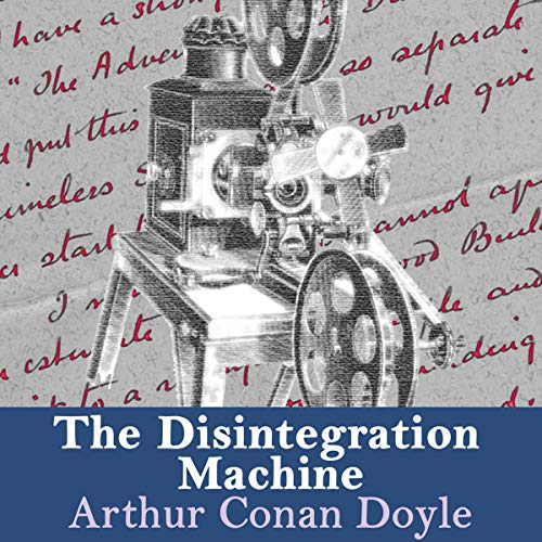 The Disintegration Machine audiobook cover art