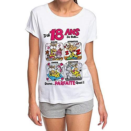 Surprisez-vous - Tee Shirt Humour Femme 18 Ans
