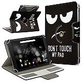 UC-Express Archos 101 Platinum 3G Tablet Hülle Tasche Schutzhülle Case Schutz Cover Drehbar, Farbe:Motiv 4