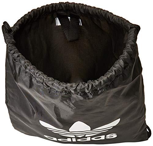 adidas Trefoil Gym Sack - Black, One size