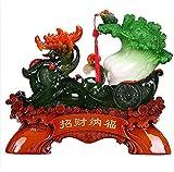 GLJY PIXIU Col Estatuas, el Feng Shui Esculturas Figuritas Estatuilla Coleccionable Resina...