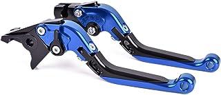 Bremshebel Klappbar, Kupplungshebel Skalierbar, CNC Motorrad Hebel für H0NDA XL1000 Varadero, XL1000 ABS (1999 2013) Blau Schwarz