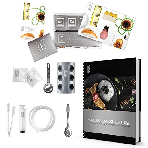 Molecule-R 50comida cocina Combo Kit de gastronomía molecular cocina y alimentos...