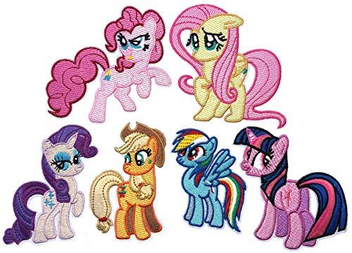 i-Patch - Patches - 0129 - Pferd - Pony - Einhorn - Fohlen - Pferdekopf - Pferde - Hufeisen - Reiten - Applikation - Aufbügler - Aufnäher - Sticker - zum aufbügeln - Flicken - Bügelbild - Badges