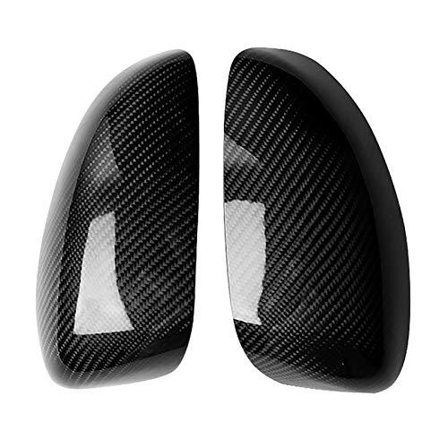 LQIAN Carcasa de Espejo de Puerta Funda Lateral De Lateral De Fibra De Carbono Retrovisor Espejo Cubierta Ajuste Fit For Mazda RX8 Espejo De Fibra De Carbono (Color : Black)
