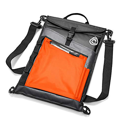 Aqua Quest Typhoon Laptop Sleeve - 100% Waterproof, Lightweight, Durable, Padded Case - Protective Computer Pouch Cover Bag - 13 inch - Orange