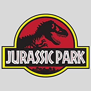GI Jurassic Park Decal Sticker Vinyl | Jeep Safari Dinosaur | Cars Walls Laptops | Premium Quality | 5.5