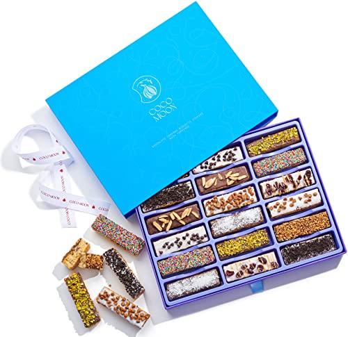 Coco Moon Biscotti Gift Basket - Gourmet Biscotti Italian Cookies,...