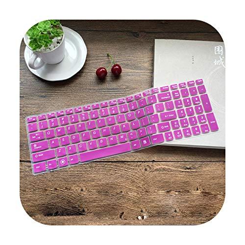 Keyboard Cover Skin for Lenovo G50 G50-30 G50-70 G50-80 G500 G500S G505 G505S G510 G570 G575 G770 G580 G585 Y570-Purple-