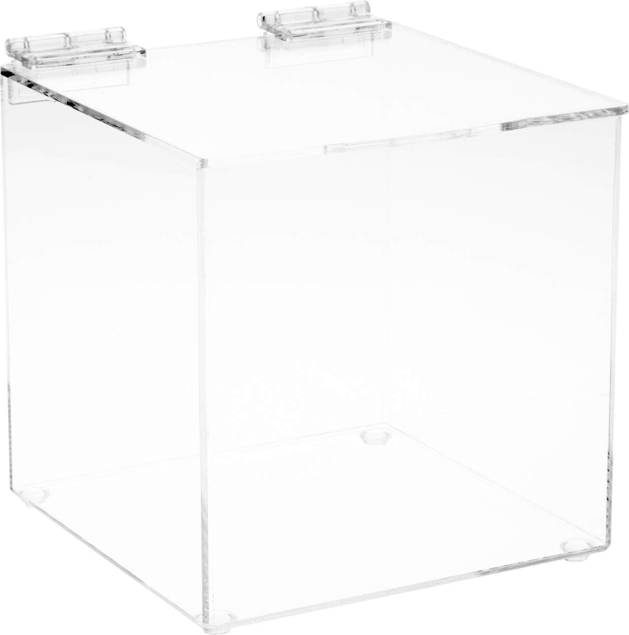 Plymor Clear Acrylic 本店 Display Case 価格 交渉 送料無料 Box with Lid 6