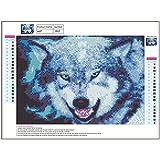 Diamant-Kreuz-Stich-englische Buchstaben Liebe 5D Diamanten voller Diamant-Diamant-Dekoration Wolf E617