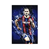 Oscar Mingueza Fußballbewegungs-Poster 1 Leinwand Poster