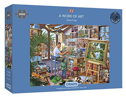 Gibsons Work of Art (disponibile anche come 500XL e 1000pc), G8017