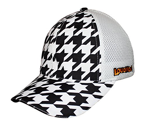 Headsweats Chapeau de Camionneur avec Dos fermé en Maille et Style Loudmouth Taille Unique Oakmont Pied de Poule