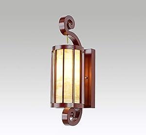 China Moderna Lámpara De Pared De Madera Sólida Personalidad Creativa Nórdicos Dormitorio Estudio Cabecera Lámpara Un Pasillo+