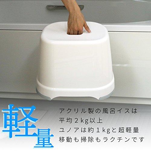 レックYUNOA(ユノア)風呂いす高さ28cm(ニューグリーン)防カビ・抗菌BB-108