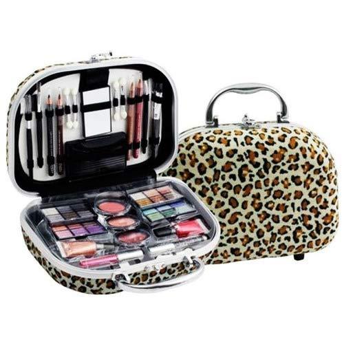 Maleta de maquiagem Fenzza Onça com 46 itens hzp740