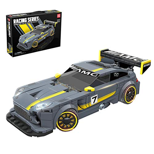 LAKA Technic Racing Car Model 365Pcs Supercar Series Sports Car Brick Toy Gift para Mercedes-Benz AMG GT Compatible con Lego Technic