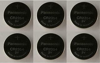 [ Pack of 6 ] Panasonic CR2354 2354 CR 2354 3V lithium BATTERIES