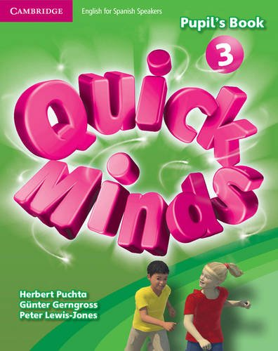 Quick Minds Level 3 Pupil's Book with Online Interactive Activities - 9788483235416