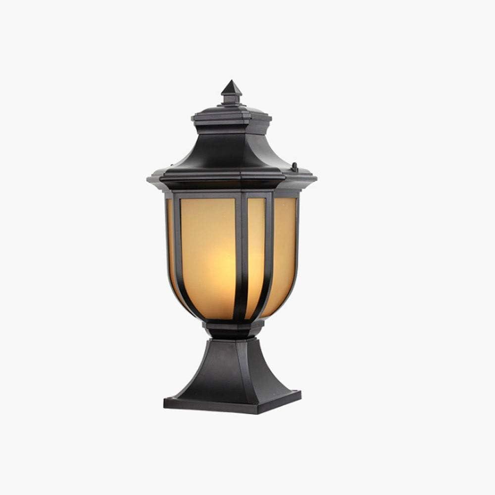 Charlotte Mall Slreeo Pillar Lamp Garden Lights Gatepo Light Wall Column Max 73% OFF
