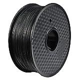 PC Carbon Fiber Polycarbonate Filament 1.75mm 3D Printer Filament 1kg (2.2lb) High Hardness High Strength