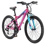 Mongoose Silva Mountain Bike, For Women and Girls,...