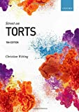 Street on Torts - Christian (Professor of Private Law, Professor of Private Law, Queen Mary University of London (QMUL)) Witting
