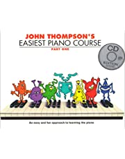 John Thompson's Easiest Piano Course: Part One (Book + CD)