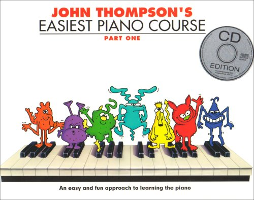 John Thompson's Easiest Piano Course: Part One (Book And CD) [Lingua inglese]: Part One (Book And Audio): 1