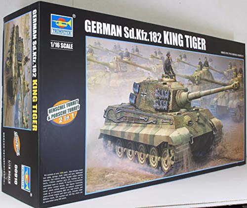 Trumpeter TRU00910 910 Modellbausatz German King Tiger 2 in 1