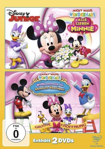 Micky Maus Wunderhaus - Alle lieben Minnie / Willkommen in Minnies Boutique [2 DVDs]
