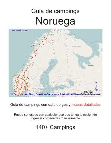 Guia de campings en NORUEGA (con data de gps y mapas detallados)