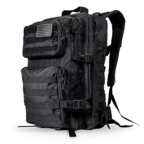 LIVABIT 40L Emergency Tactical EDC 3 Day Earthquake Survivalist Grab and Go Bug Out Kit