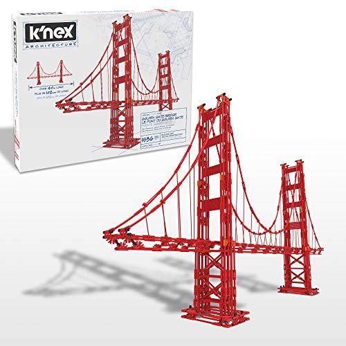 Arquitectura KNEX: Golden Gate Bridge - Exclusivo de Amazon