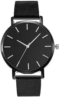 ساعة ساوث لاين سويسرية كوارتز بسوار جلد عجل, اسود 20 (الموديل: SS20-dr1-4666)
