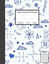 Graph Paper Notebook, Quad Ruled 5 squares per inch: Math and Science Composition Notebook for Students (Notebooks For Students)