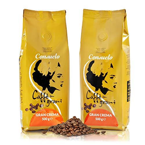 Consuelo Gran Crema - Italian Coffee in whole beans - 2 x 500g