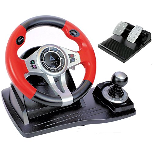 c12b7f3d0b6 Logic3 PXU450 TopDrive GT450 Multiformat Steering Wheel for PS3, PS4, XBox  One and PC