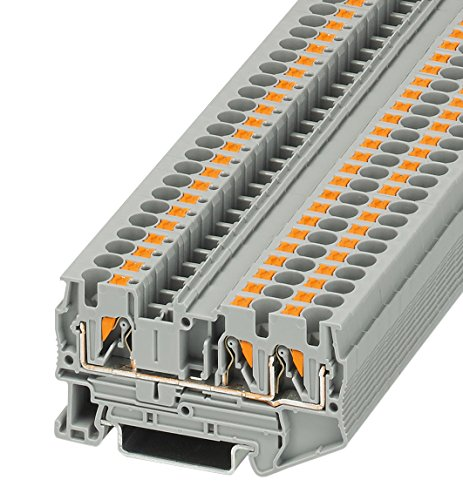 PHOENIX CONTACT Durchgangsklemme PT 4-TWIN, 50 Stück, 3211771