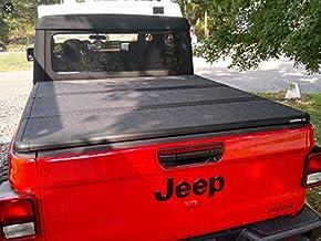 MOPAR 82215616 .9 2020 Jeep Gladiator Hard Tri-Fold Black Tonneau Cover OEM