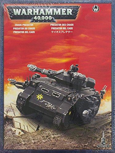 Chaos Space Marines Predator Box Warhammer 40K