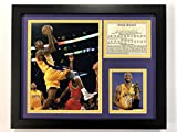 Kobe Bryant - Gold Jersey 11' x 14' Framed Photo Collage by Legends Never Die, Inc.