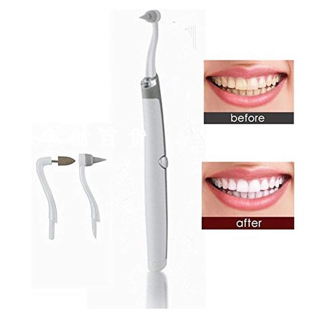 繊細ファイター不健康LEDライト付き電動微粉除去剤、歯科用高周波振動歯石スクレーパー除去剤、歯の汚れ、歯垢除去歯ホワイトニングケアツール