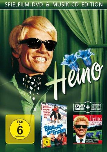 Heino: Blau blüht der Enzian / Große Erfolge [Sammel Edition - Spielfilm+ Musik CD Edition] [2 DVDs]